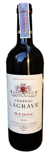 Chateau La Grave Medoc 2012 750ml - Case...